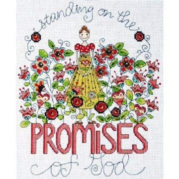 Promises Counted Cross Stitch Kit by Design Works- 2796